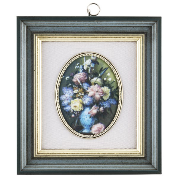 Miniatur-Rahmen mit Kunstdruck Bildgröße 7x9 cm Bild1