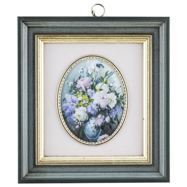 Miniatur-Rahmen mit Kunstdruck Bildgröße 7x9 cm Blum.Bild2