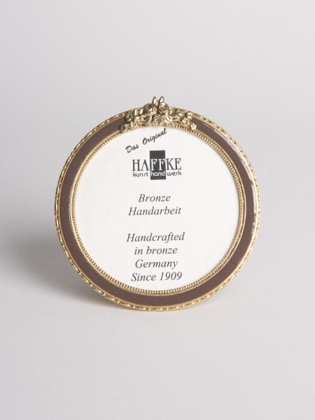 Bronze Email-Fotorahmen oval