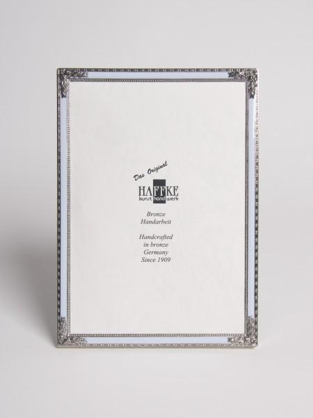 Bronze Email-Fotorahmen eckig (silber)