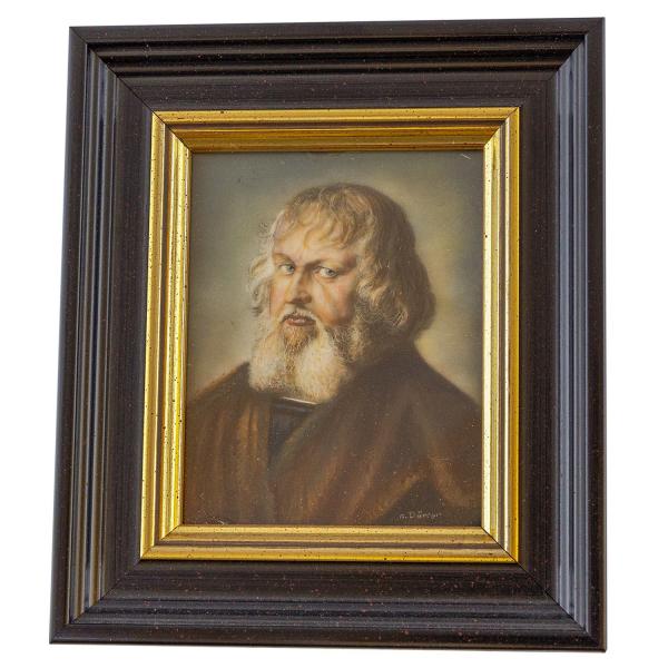 Miniatur-Rahmen mit Malerei Bildgröße 7x9 Holzschuher