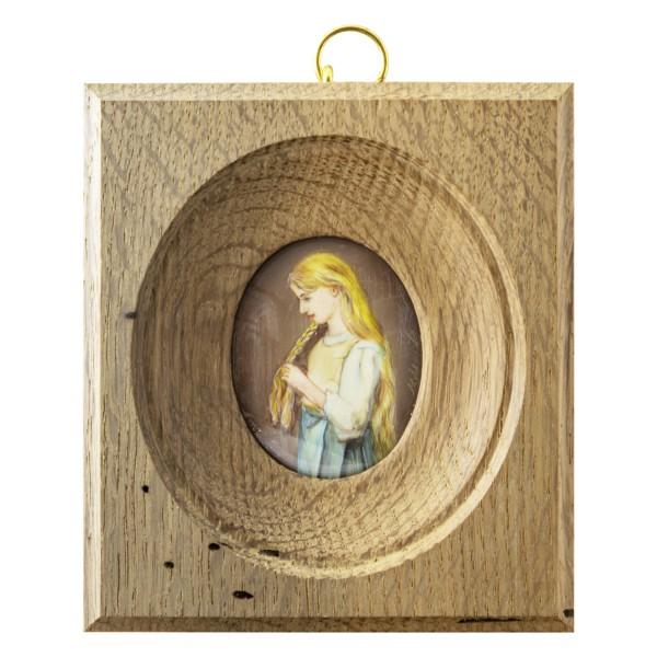 Miniatur-Rahmen mit Malerei Bildgröße 4x5